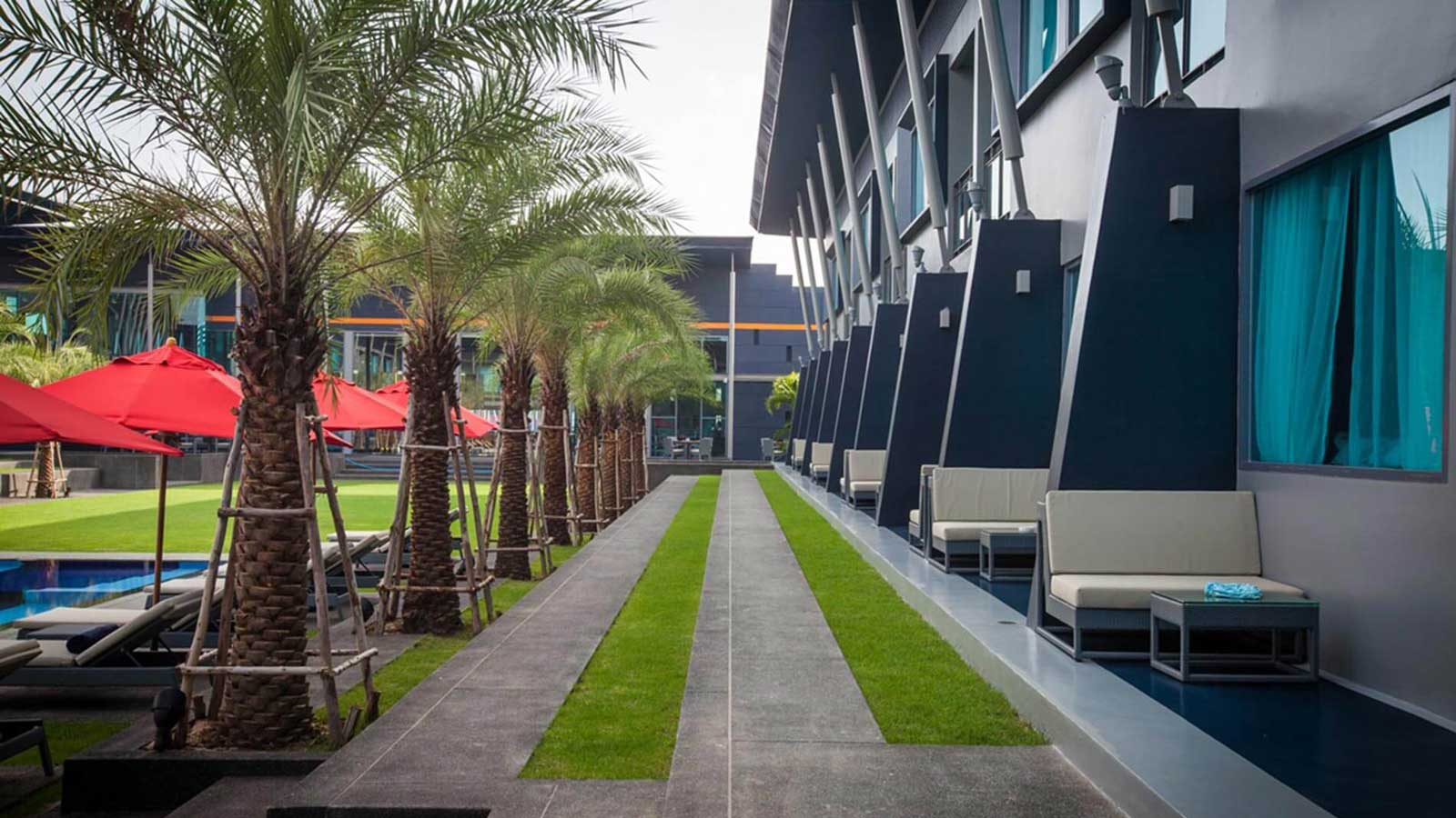 Deluxe Pool Terrace at Amari Buriram United