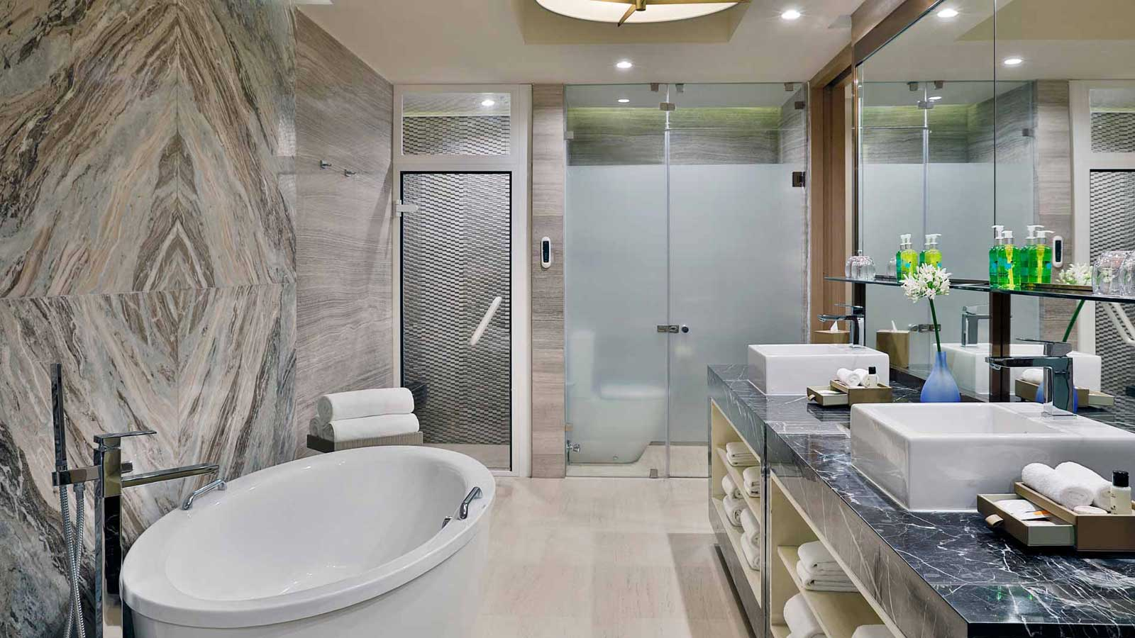 Bathroom in Presidential Suite