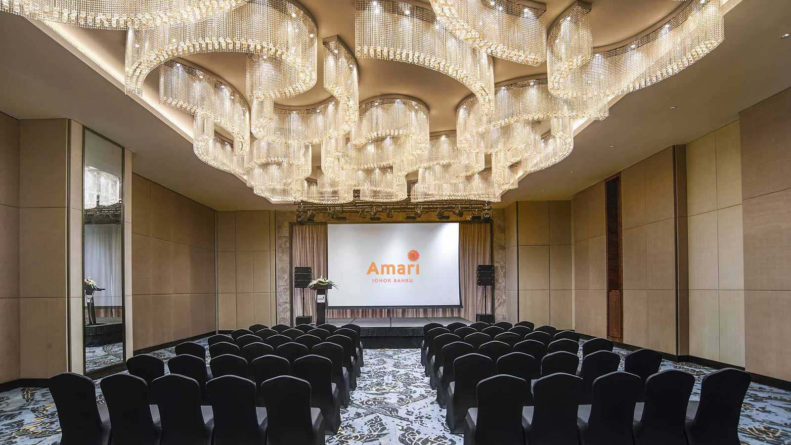 Meeting Facility Theatre Set-Up - Amari Johor Bahru