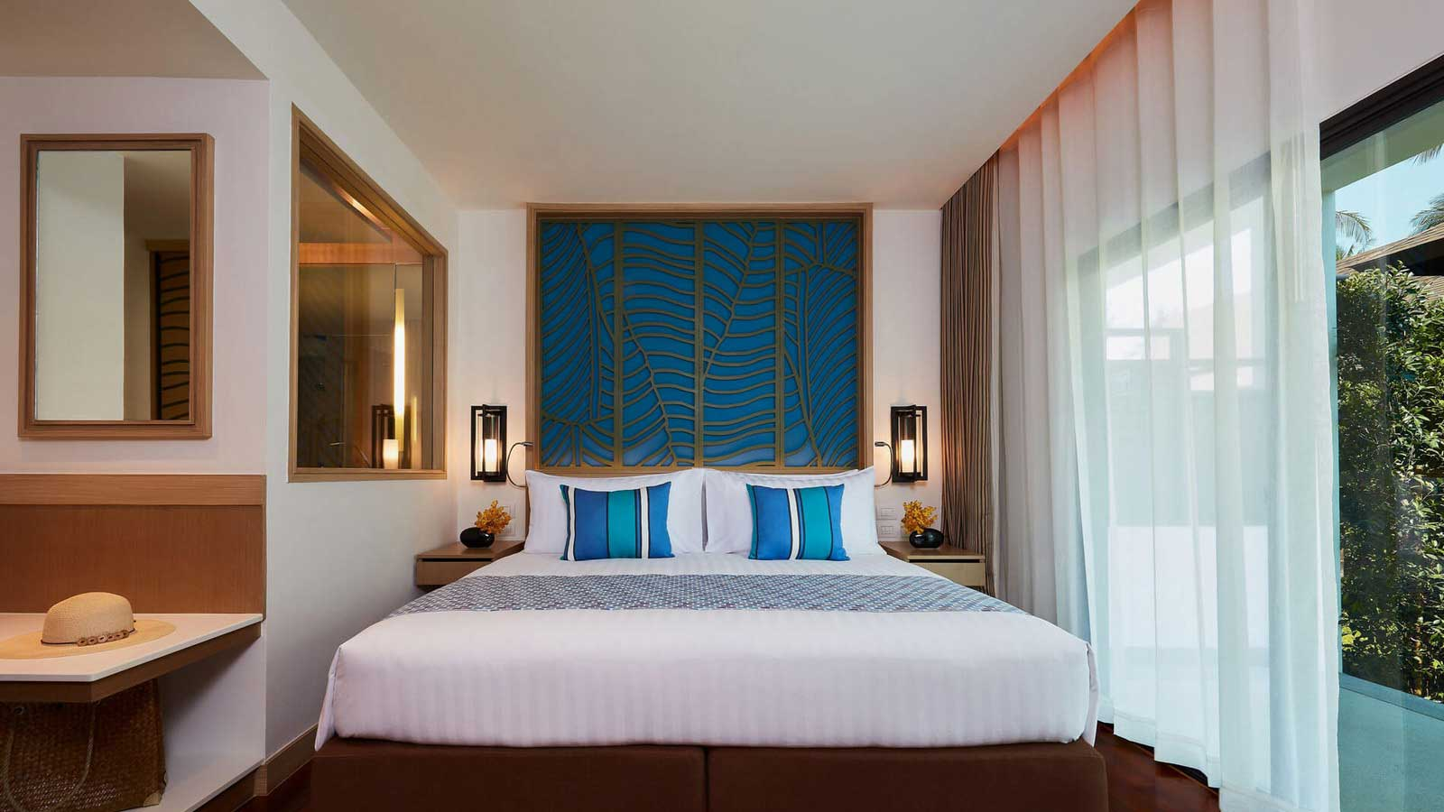 Master bedroom in Two Bedroom Family Suite Beach Wing