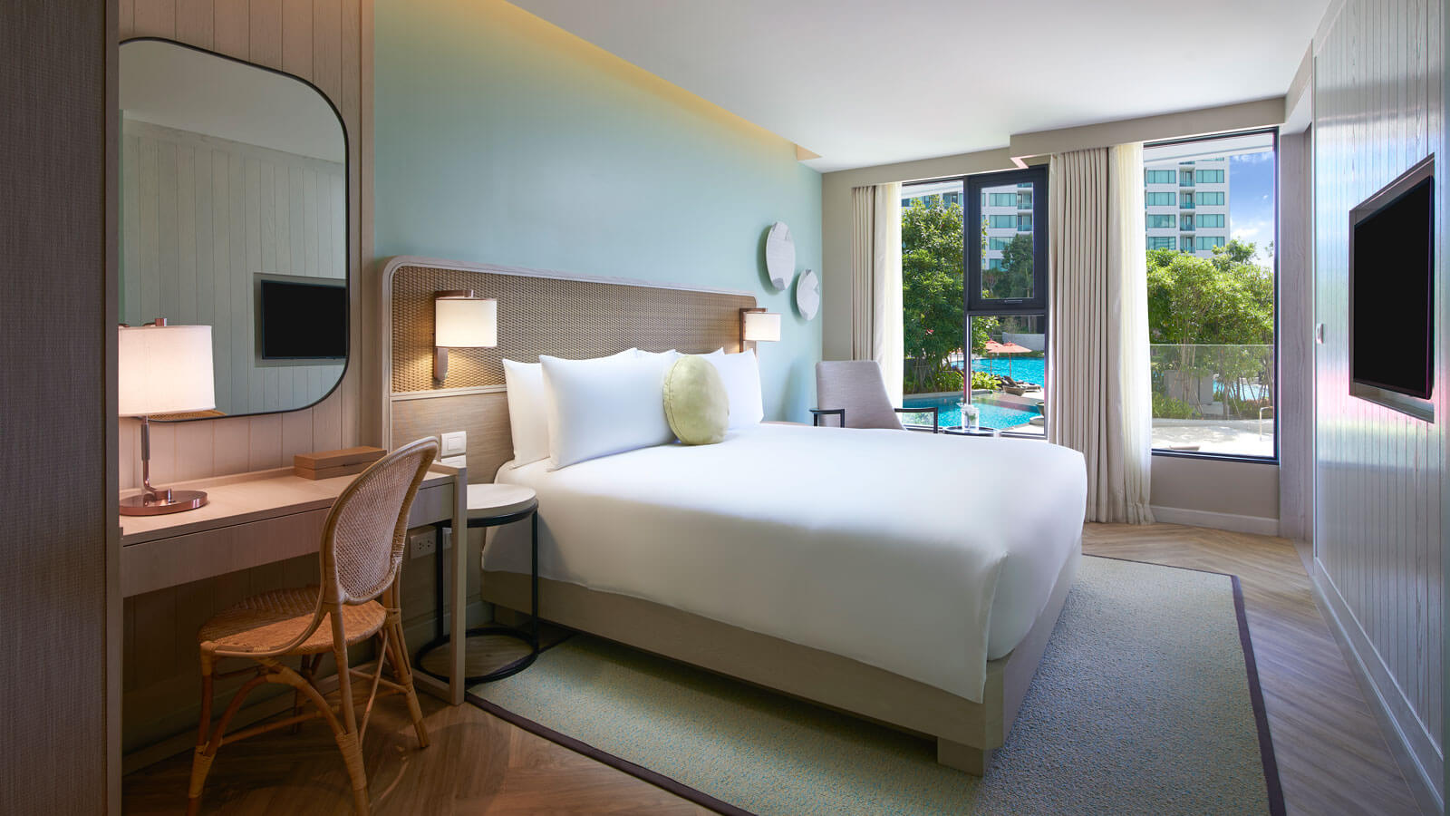 Master bedroom in Club Grand Amari Suite