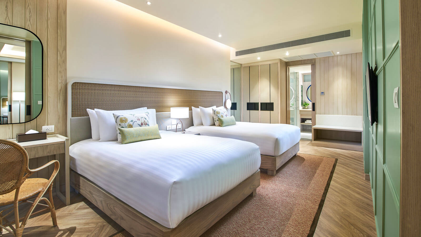 Third bedroom in Club Grand Amari Suite