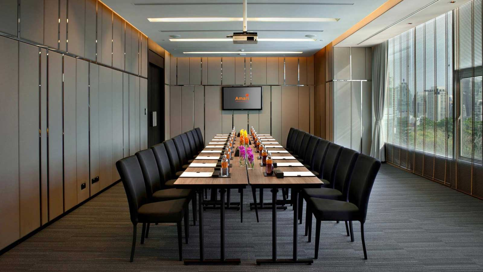 Our contemporary meeting room