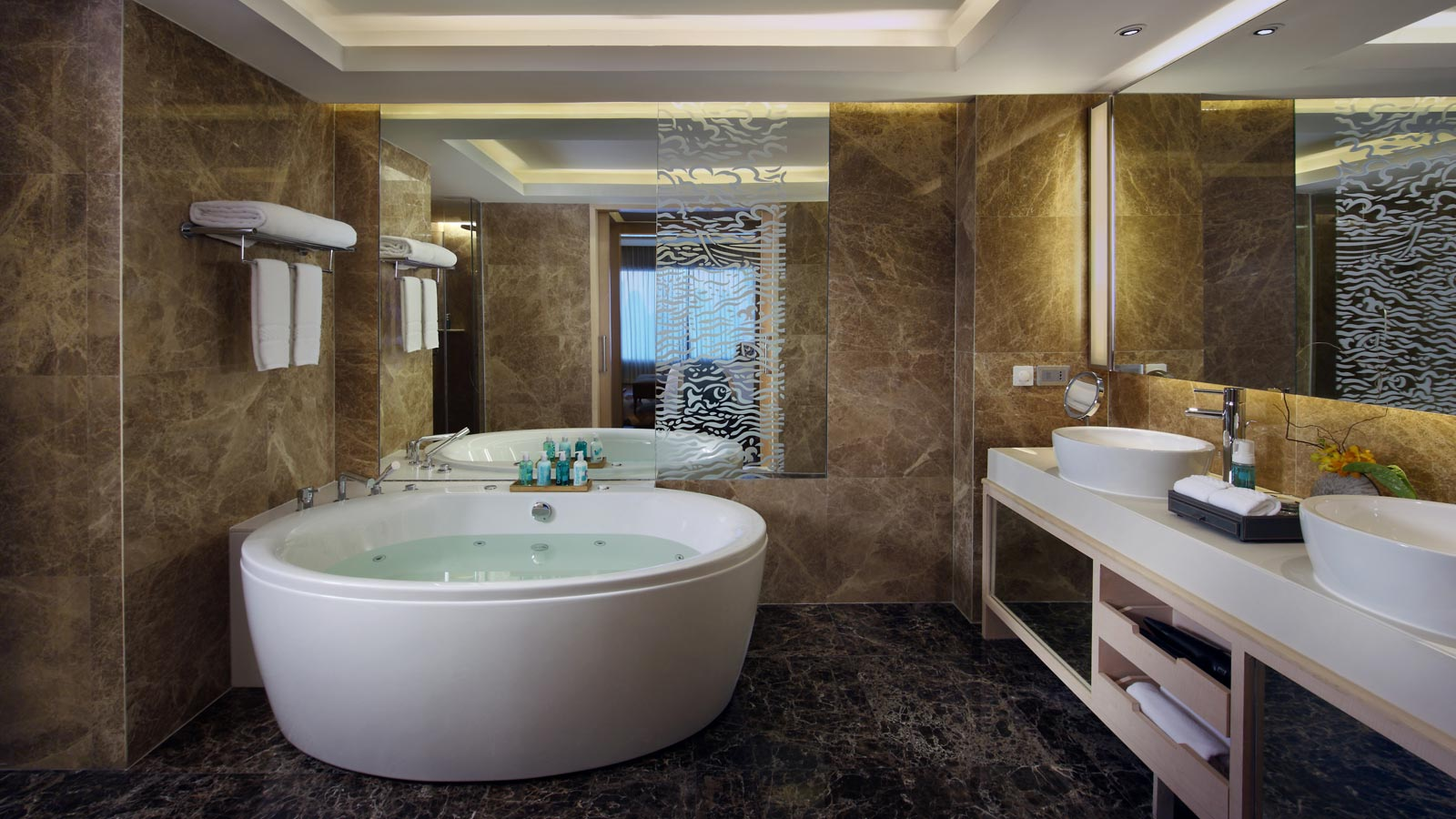 Bathroom in Executive Suite